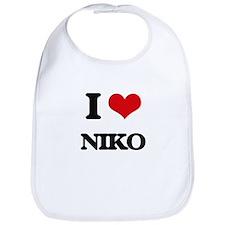 I Love Niko Bib
