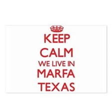 Keep calm we live in Marf Postcards (Package of 8)