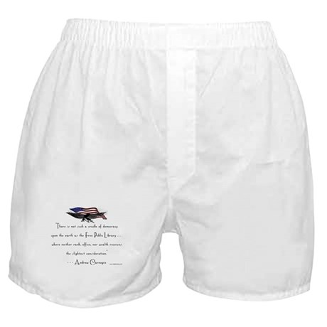 Andrew Carnegie-Libraries<br> Boxer Shorts
