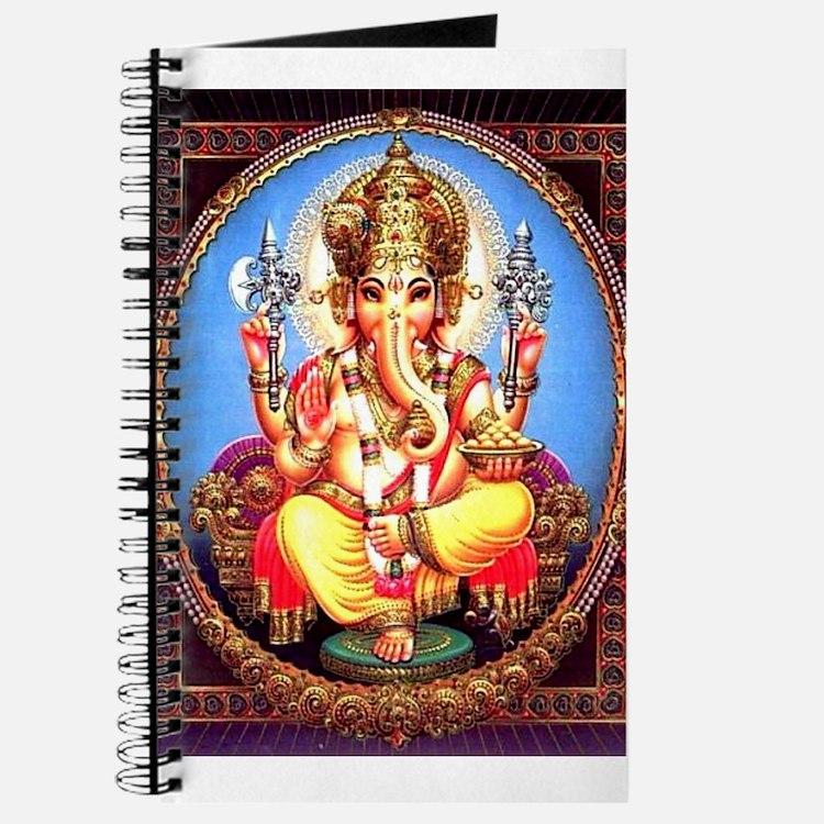 Ganesh / Ganesha Indian Elephant Hindu Dei Journal