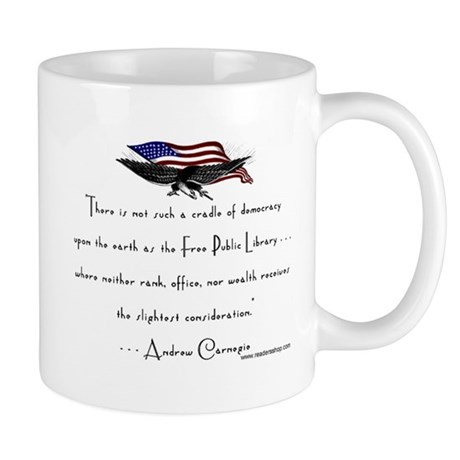 Andrew Carnegie-Libraries<br> Mug