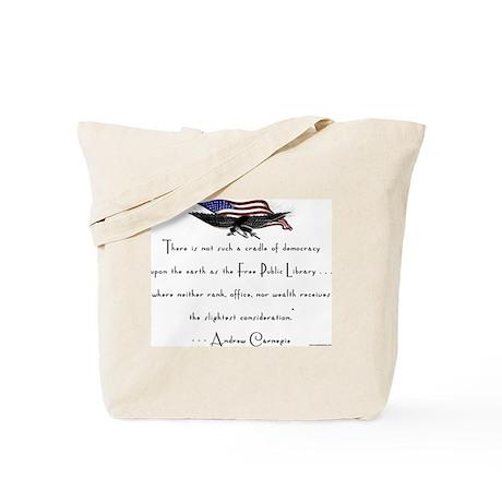 Andrew Carnegie-Libraries<br> Tote Bag