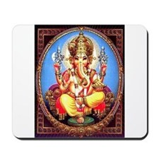 Ganesh / Ganesha Indian Elephant Hindu D Mousepad