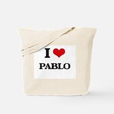I Love Pablo Tote Bag