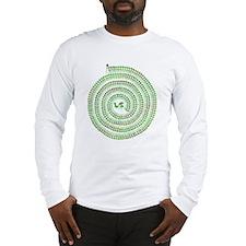Warli Spiral Long Sleeve T-Shirt