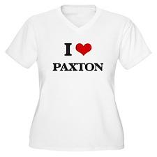 I Love Paxton Plus Size T-Shirt