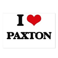 I Love Paxton Postcards (Package of 8)