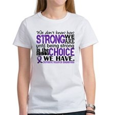 Domestic Violence HowStrongWeAre Tee