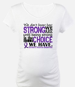 Domestic Violence HowStrongWeAre Shirt