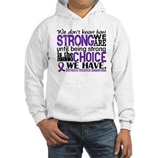 Domestic Violence HowStrongWeAre Hoodie