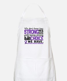 Domestic Violence HowStrongWeAre Apron
