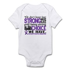 Domestic Violence HowStrongWeAre Infant Bodysuit