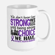Domestic Violence HowStrongWeAre Mug