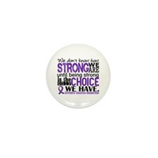 Domestic Violence HowStrongW Mini Button (10 pack)