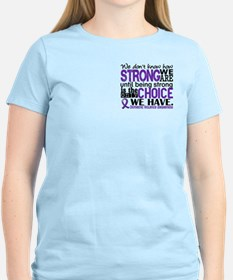 Domestic Violence HowStrongW T-Shirt