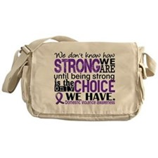 Domestic Violence HowStrongWeAre Messenger Bag