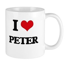I Love Peter Mugs