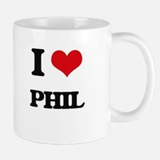 I Love Phil Mugs