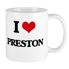 I Love Preston Mugs