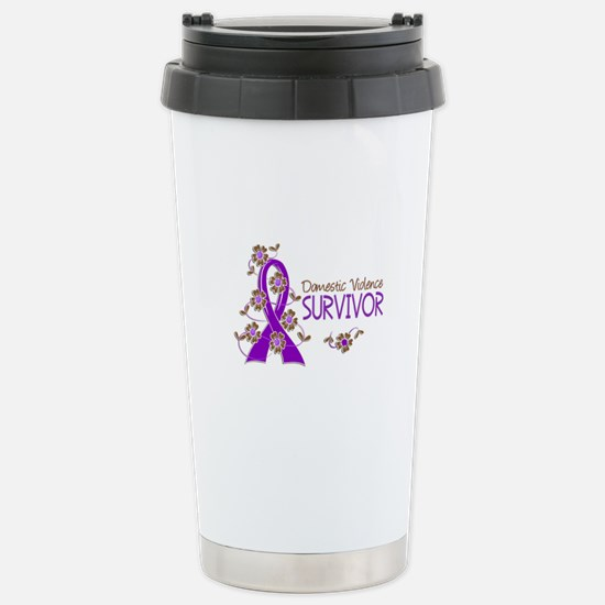 Domestic Violence Survi Stainless Steel Travel Mug