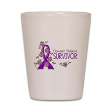Domestic Violence Survivor 3 Shot Glass