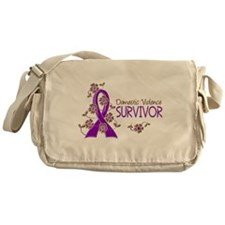 Domestic Violence Survivor 3 Messenger Bag
