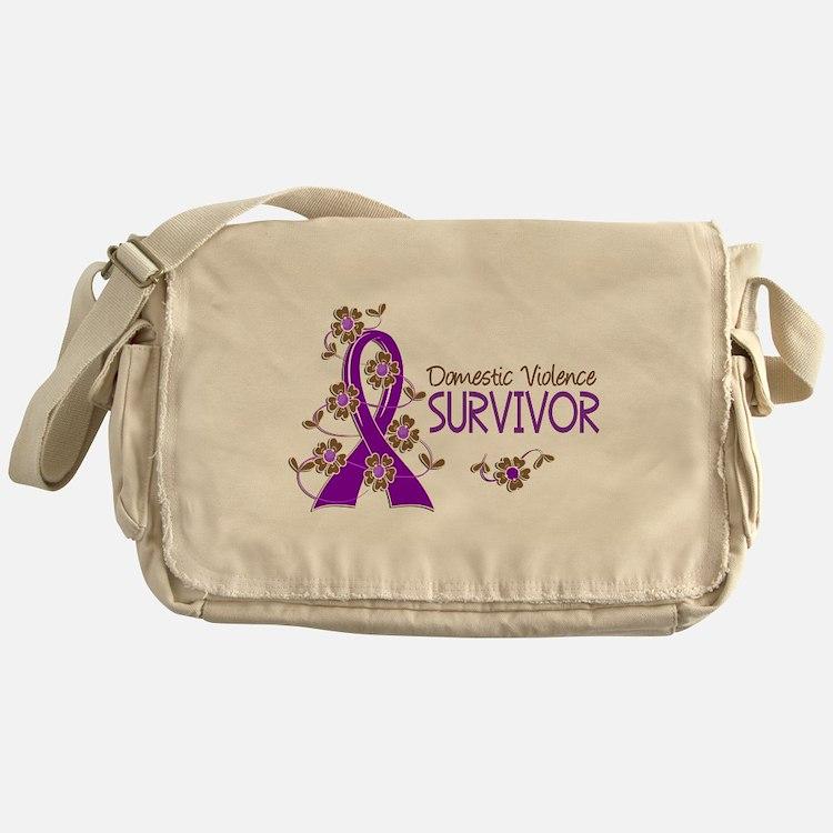 Domestic Violence Survivor 3 Messenger Bag