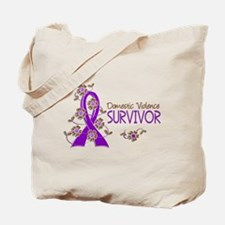 Domestic Violence Survivor 3 Tote Bag