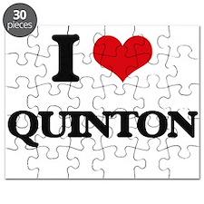 I Love Quinton Puzzle