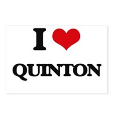 I Love Quinton Postcards (Package of 8)