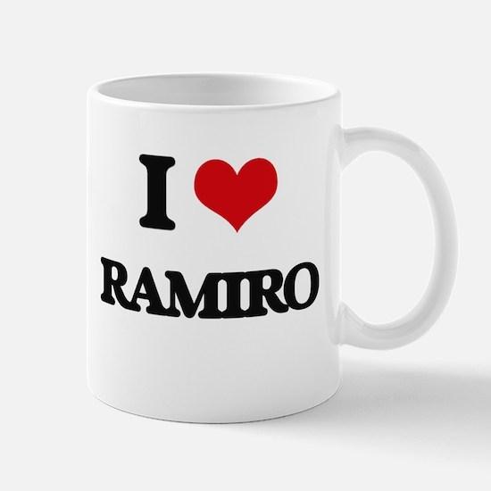 I Love Ramiro Mugs
