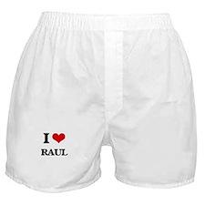 I Love Raul Boxer Shorts