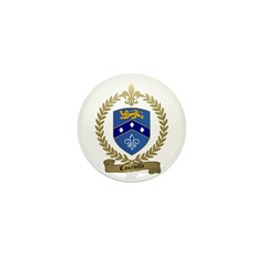 COURVILLE Family Crest Mini Button (10 pack)