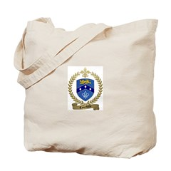 COURVILLE Family Crest Tote Bag