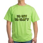 No Gut No Glory Beer Green T-Shirt