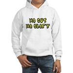 No Gut No Glory Beer Hooded Sweatshirt