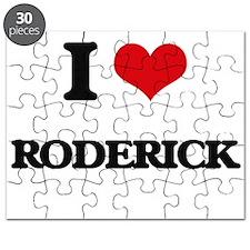 I Love Roderick Puzzle