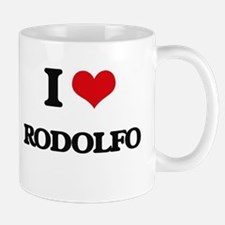 I Love Rodolfo Mugs