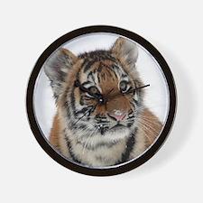 Tiger_2015_0113 Wall Clock