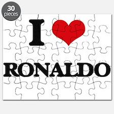 I Love Ronaldo Puzzle