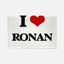 I Love Ronan Magnets
