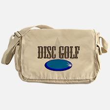 coming at ya disc Messenger Bag