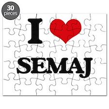 I Love Semaj Puzzle