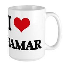 I Love Shamar Mugs
