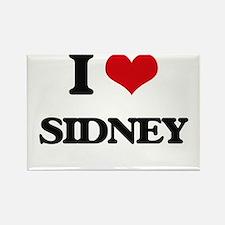 I Love Sidney Magnets
