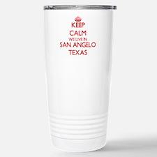 Keep calm we live in Sa Stainless Steel Travel Mug