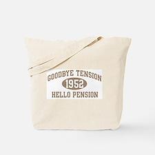 Hello Pension 1952 Tote Bag