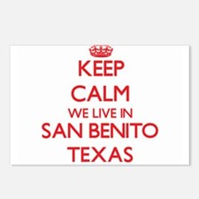Keep calm we live in San Postcards (Package of 8)