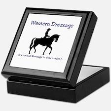 Western Dressage (It's not just Dress Keepsake Box
