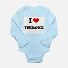 I Love Terrance Body Suit